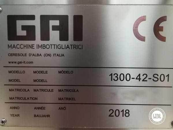 Used Filling Monoblock GAI 1300-42-S01 - 7