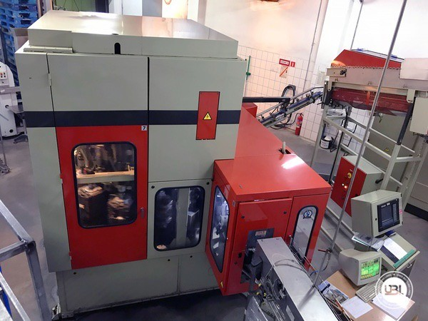 Used Blow Molding Machine Sidel SBO10/14 - 6