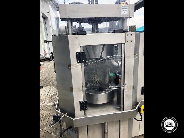 Used Bottle Washer Dryer Cames VDT/4 - 2