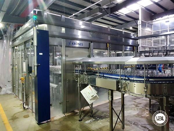 Used rinsing machine Krones Modulejet 30000 bph year 2016 - 1