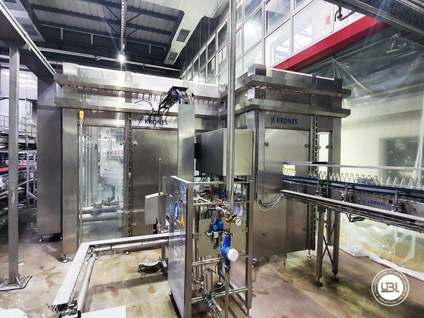 Used rinsing machine Krones Modulejet 30000 bph year 2016 - 11