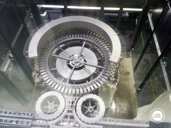 Used rinsing machine Krones Modulejet 30000 bph year 2016 - 12