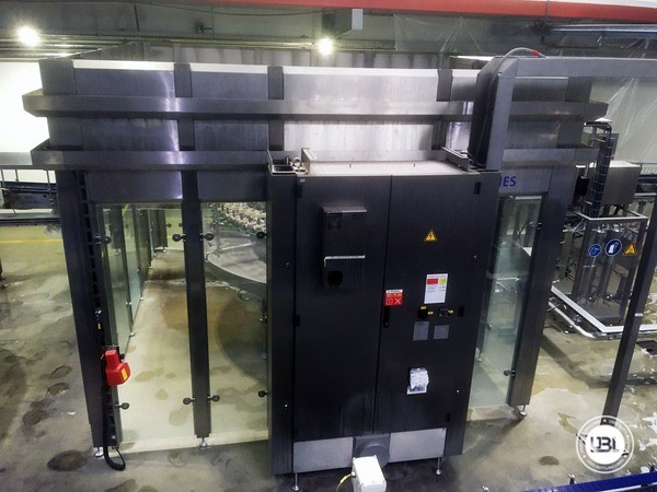 Used rinsing machine Krones Modulejet 30000 bph year 2016 - 14