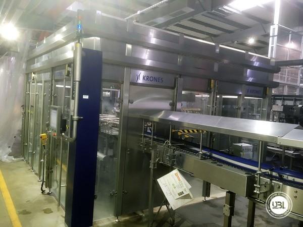Used rinsing machine Krones Modulejet 30000 bph year 2016 - 15