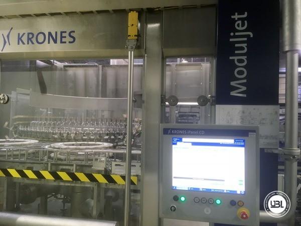 Used rinsing machine Krones Modulejet 30000 bph year 2016 - 17