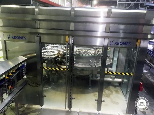 Used rinsing machine Krones Modulejet 30000 bph year 2016 - 18