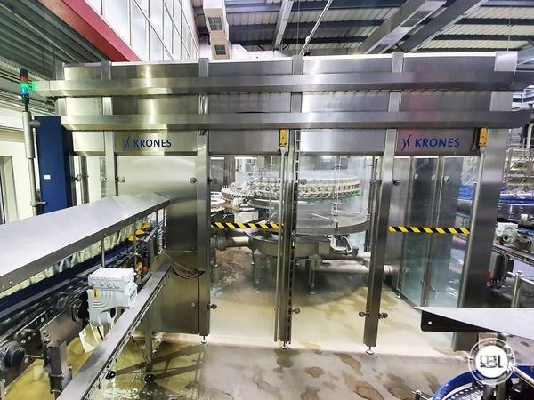Used rinsing machine Krones Modulejet 30000 bph year 2016 - 4
