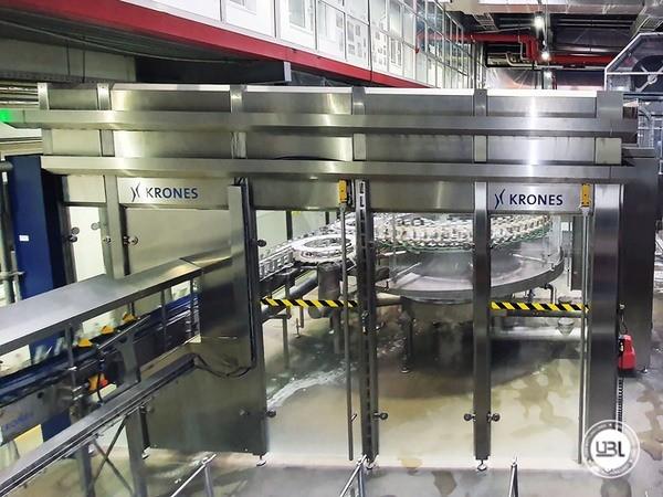 Used rinsing machine Krones Modulejet 30000 bph year 2016 - 5