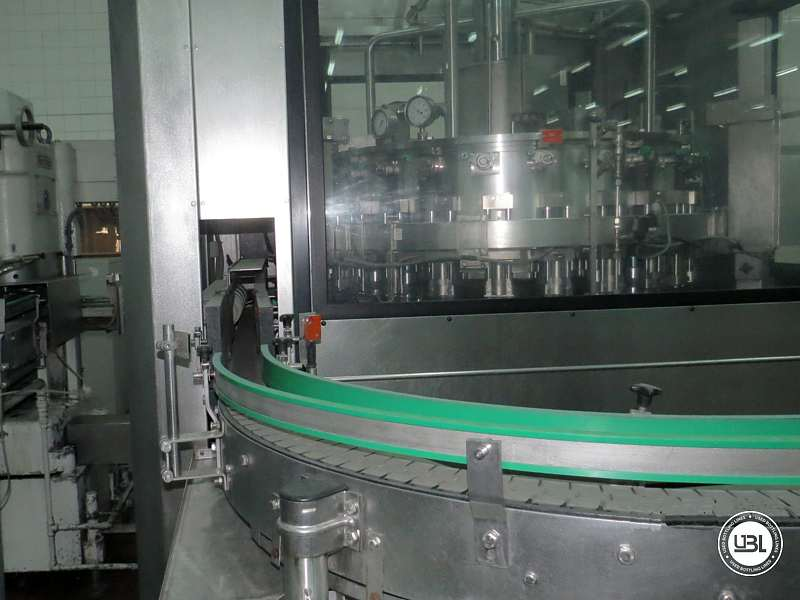 Used Complete Can Line for Soft Drinks 6000 cph - 3