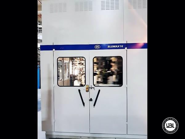 Used Blow Molding Machine SIG BLOMAX 16 GEN III - 20