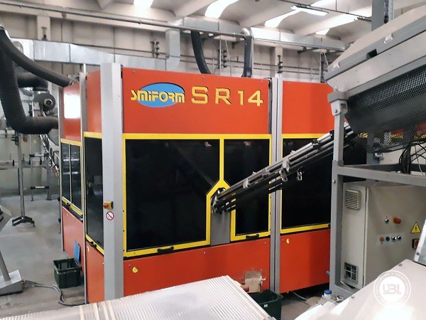 Used Blow Molding Machine SMIFORM SR14 - 1