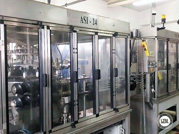 Used Complete PET Line for Soft Drinks, Sparkling Water, Water 6000 bph - 6