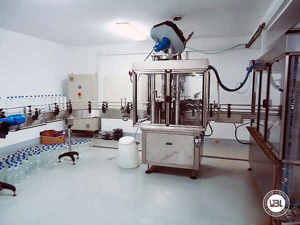 Used Complete PET Line for Soft Drinks, Sparkling Water, Water 6000 bph - 9