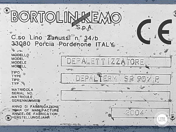 Used Depalletizer Bortolin Kemo DEPALTERM SP / 90 / P - 8