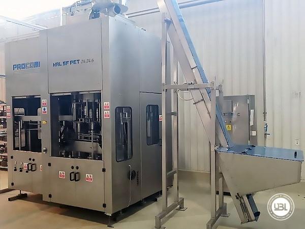 Used Volumetric Filling Machine Procomac HAL SF PET 24.24.6 / 125.6 6000 bph - 3