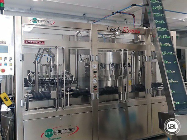 Used Complete Glass Line for Sparkling Water, Water