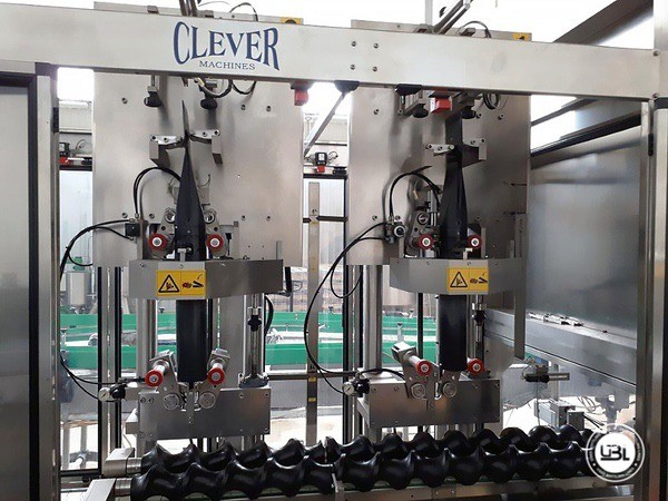 Used Bottle Labeler CLEVER MACHINES GS 412 18000 bph year 2008 - 3