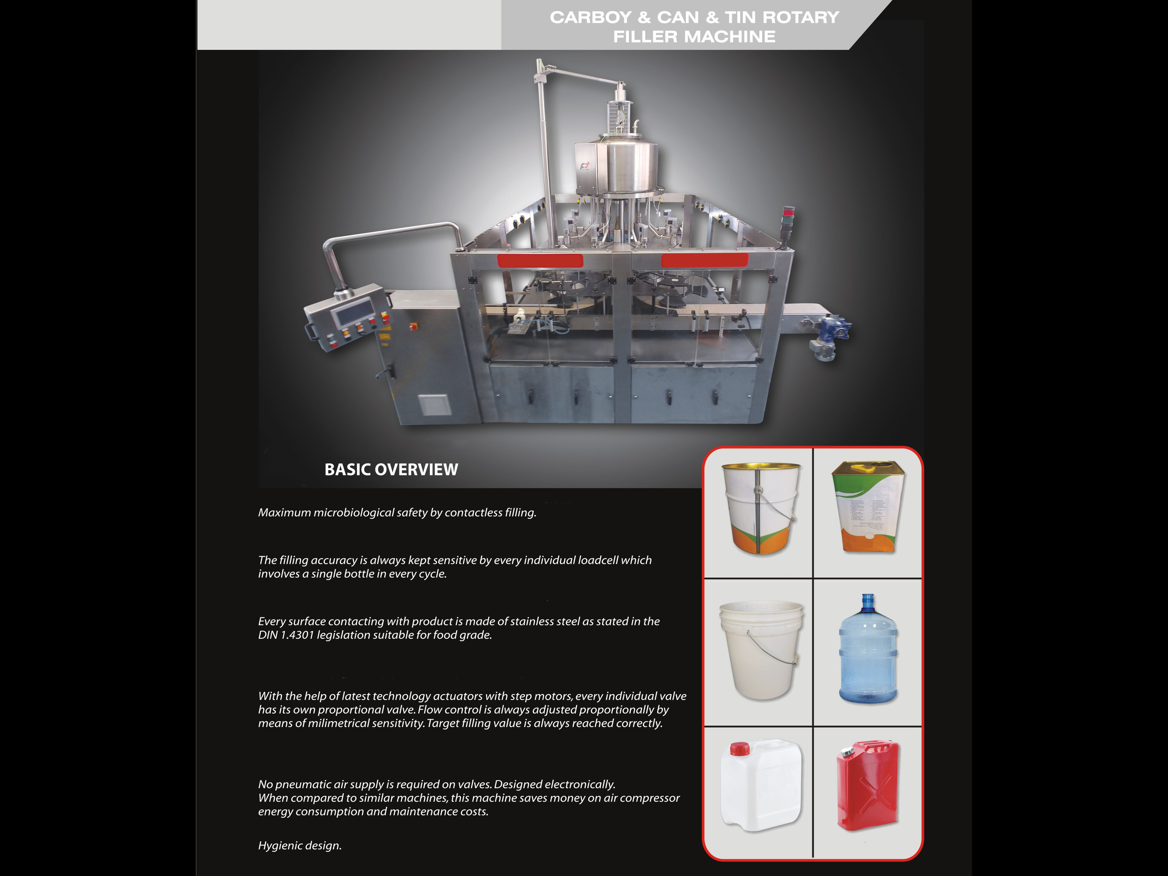 New Filling Machine CANS & TINS Filler 8.1 - 4