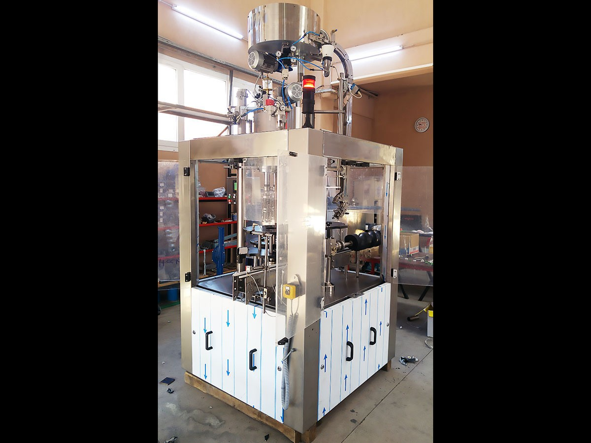 Used Capping Machine 4 heads 8000 bph - 2