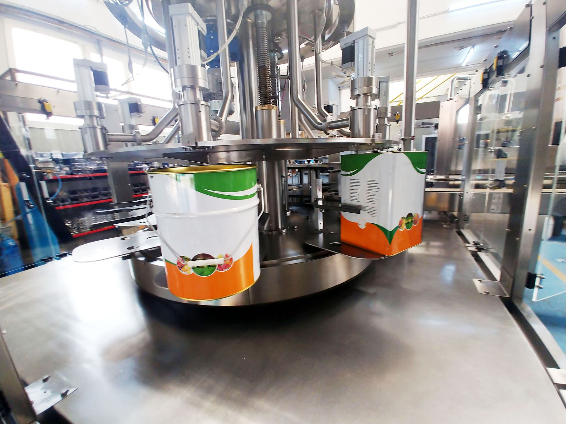 New Filling Machine CANS & TINS Filler 8.1 - 3