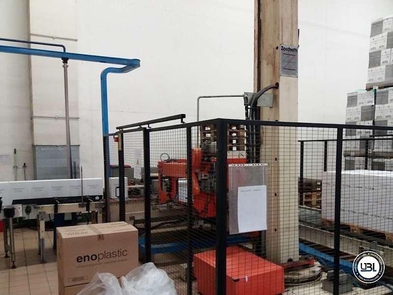 Zecchetti – Robopac Pallettizer P.50.B – Pallet Stretch Wrapper Rotoplat 2000 - 1