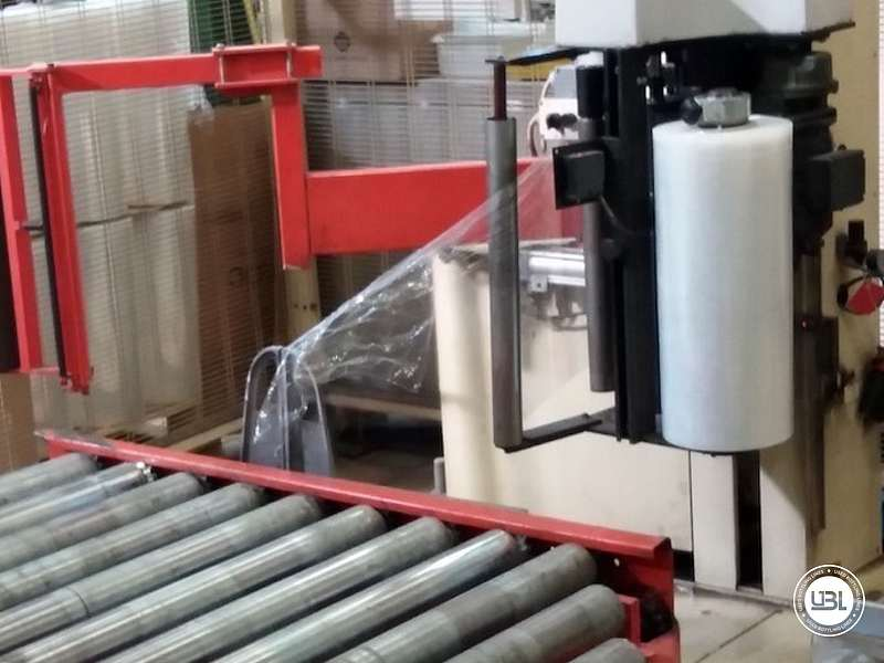 Zecchetti – Robopac Pallettizer P.50.B – Pallet Stretch Wrapper Rotoplat 2000 - 6