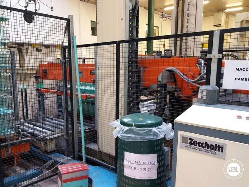 Used Palletizer Zecchetti – Robopac Pallettizer P.50.B – Pallet Stretch Wrapper Rotoplat 2000 - 1