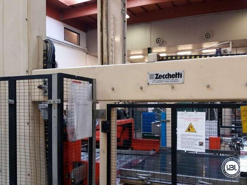 Used Palletizer Zecchetti – Robopac Pallettizer P.50.B – Pallet Stretch Wrapper Rotoplat 2000 - 8