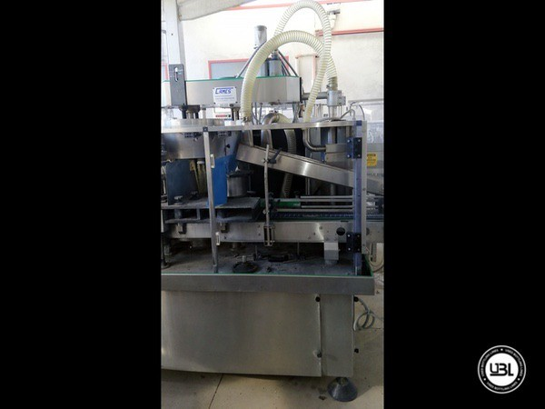 Used Bottle Washer Dryer Machine Cames WDT-6 4500 Bph - 4