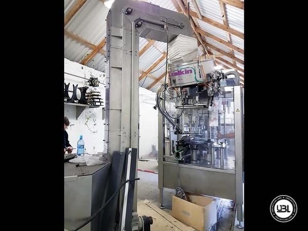 Used Capping Machine Zalkin CA 360 NG - 5