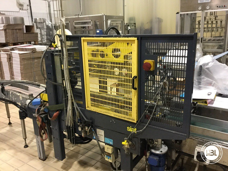 Used END OF LINE Glass for Sparkling Wine, Spumante, Still Wine 4400 bph - 8