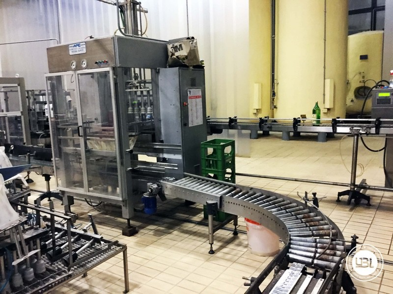 Used END OF LINE Glass for Sparkling Wine, Spumante, Still Wine 4400 bph - 4