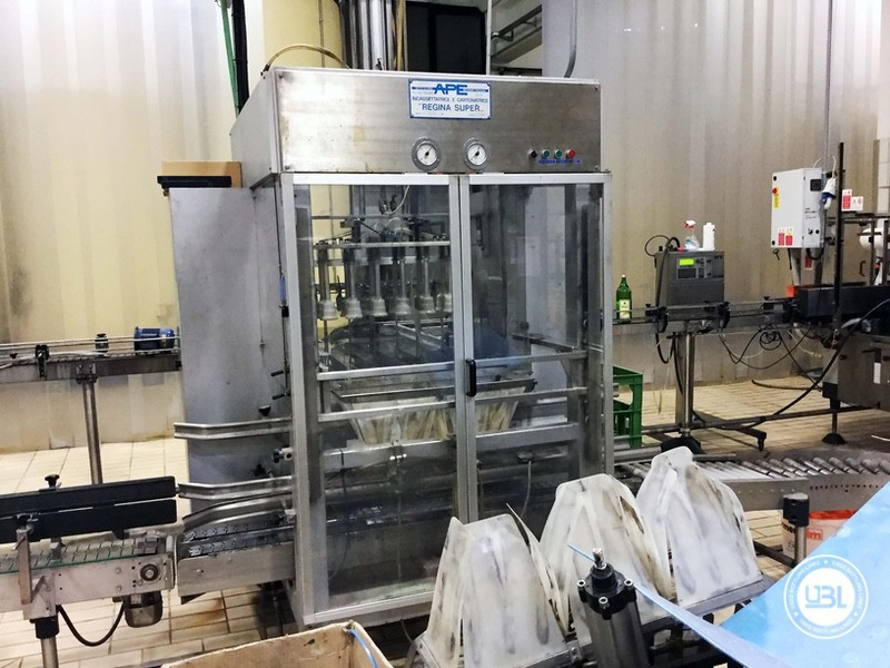 Used END OF LINE Glass for Sparkling Wine, Spumante, Still Wine 4400 bph - 5