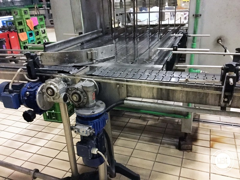 Used END OF LINE Glass for Sparkling Wine, Spumante, Still Wine 4400 bph - 7