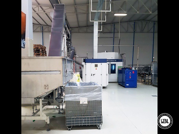 Used Complete PET Line for Soft Drinks 18000 bph - 21