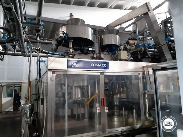 Used Filling Machine SIG Comaco RVAR50/1+VA/12 20000 bph - 2