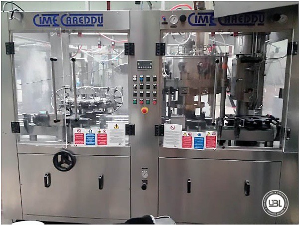 Used Filling Triblock Isobaric CIME CAREDDU GOLD DPS 12/12/1 2800 Bph - 4