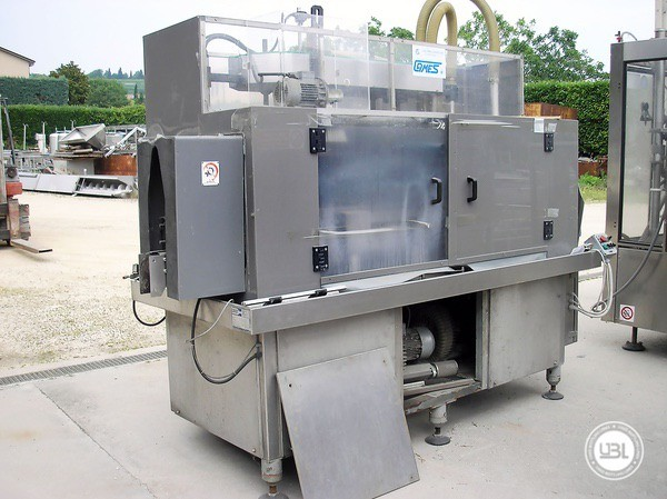 Used Bottle Washer Drying Machine Cames WDT-10 6500 bph - 1