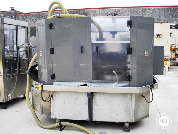 Used Bottle Washer Drying Machine Cames WDT-10 6500 bph - 3