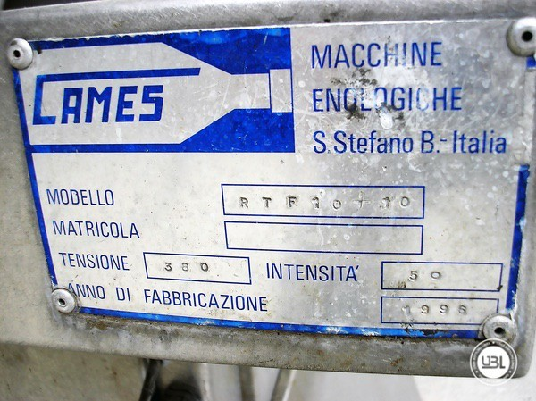 Used Bottle Washer Drying Machine Cames WDT-10 6500 bph - 5