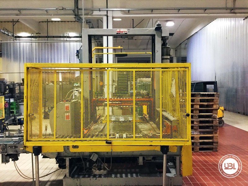 Used END OF LINE Glass for Sparkling Wine, Spumante, Still Wine 4400 bph - 10