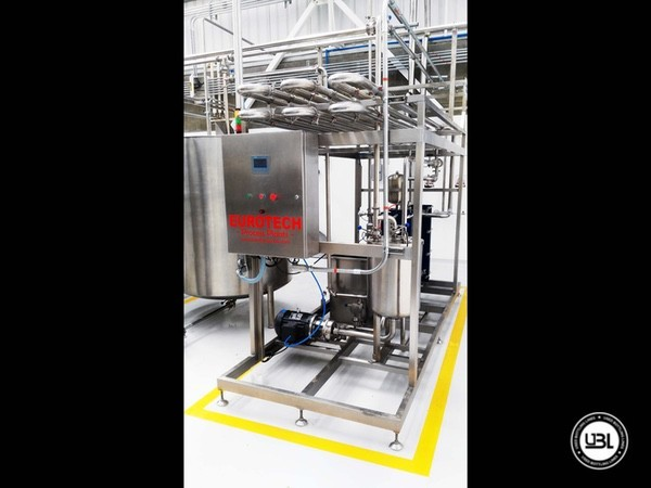 Used Pasteurizer EUROTECH Process Plants EUROSTERIL3000A/2P - 3