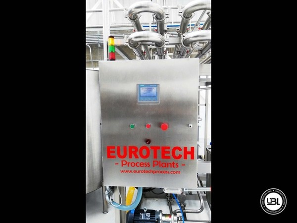 Used Pasteurizer EUROTECH Process Plants EUROSTERIL3000A/2P - 1