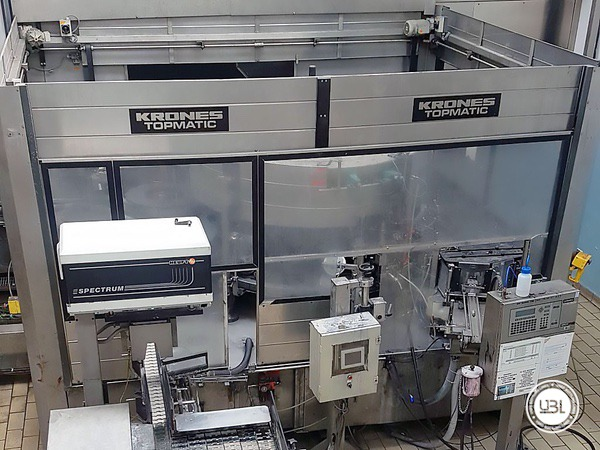 Used Isobaric Complete Glass Line for Sparkling Water, Water 60000 bph - 19