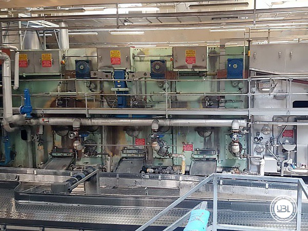Used Isobaric Complete Glass Line for Sparkling Water, Water 60000 bph - 20