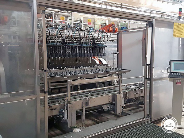 Used Isobaric Complete Glass Line for Sparkling Water, Water 60000 bph - 21