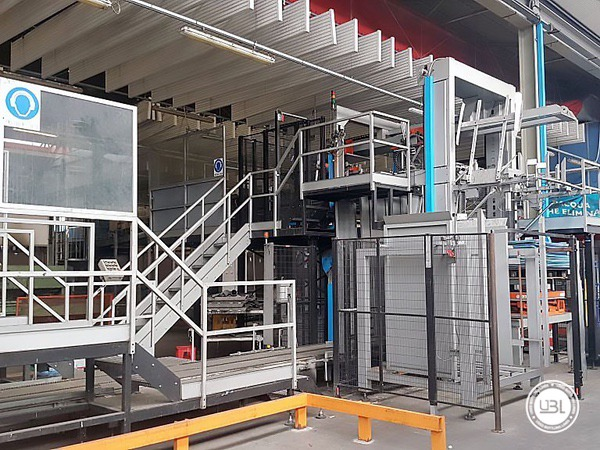 Used Isobaric Complete Glass Line for Sparkling Water, Water 60000 bph - 24