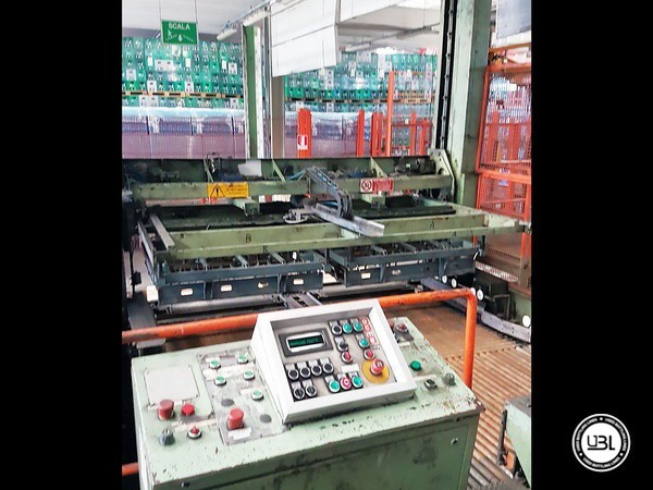 Used Isobaric Complete Glass Line for Sparkling Water, Water 60000 bph - 25