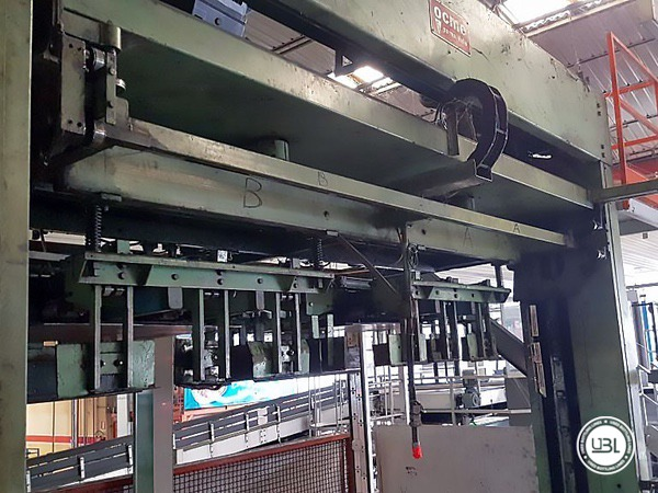 Used Isobaric Complete Glass Line for Sparkling Water, Water 60000 bph - 2