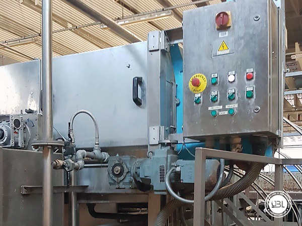 Used Isobaric Complete Glass Line for Sparkling Water, Water 60000 bph - 5